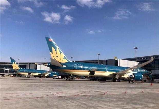 Vietnam Airlines tai Nhat khang dinh tuan thu quy dinh ve phong dich hinh anh 1