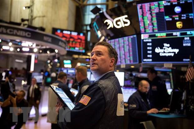 Chi so Dow Jones khep lai mot quy giam diem manh nhat tu nam 1987 hinh anh 1