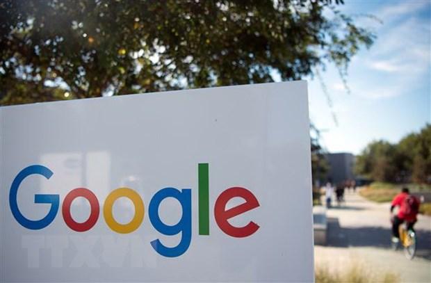 Biểu tượng Google. Nguồn: AFP/TTXVN
