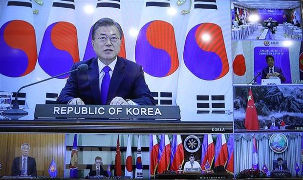 Hoi nghi Cap cao ASEAN, ASEAN+3 thu hut chu y cua truyen thong quoc te hinh anh 2