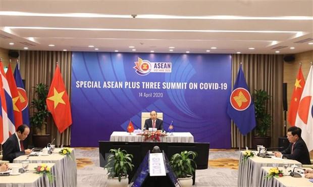 Hoi nghi Cap cao ASEAN, ASEAN+3 thu hut chu y cua truyen thong quoc te hinh anh 1