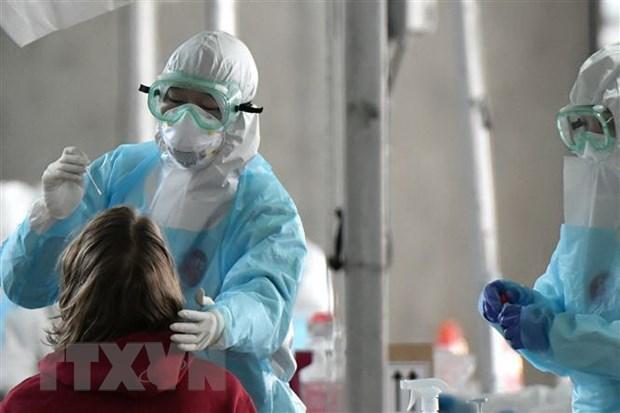 Han Quoc: So ca tai duong tinh voi virus SARS-CoV-2 tiep tuc gia tang hinh anh 1
