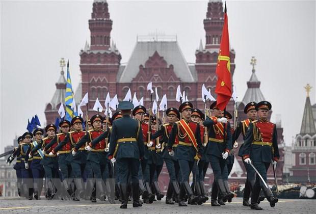 Tong thong Putin chinh thuc hoan le dieu binh tren Quang truong Do hinh anh 1