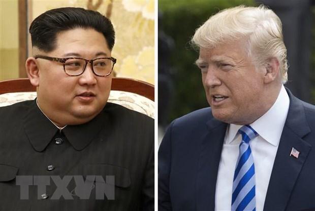 Tong thong Trump thong bao nhan duoc mot buc thu tu ong Kim Jong-un hinh anh 1