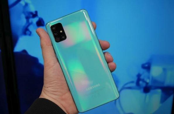 Samsung ban dien thoai Galaxy A51 5G tai Han Quoc trong tuan toi hinh anh 1