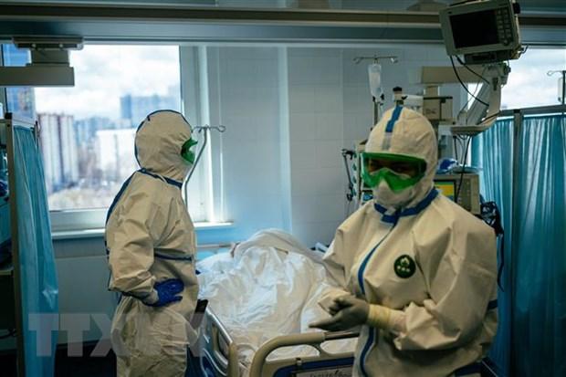 So ca nhiem virus SARS-CoV-2 o Nga vuot qua 200.000 nguoi hinh anh 1