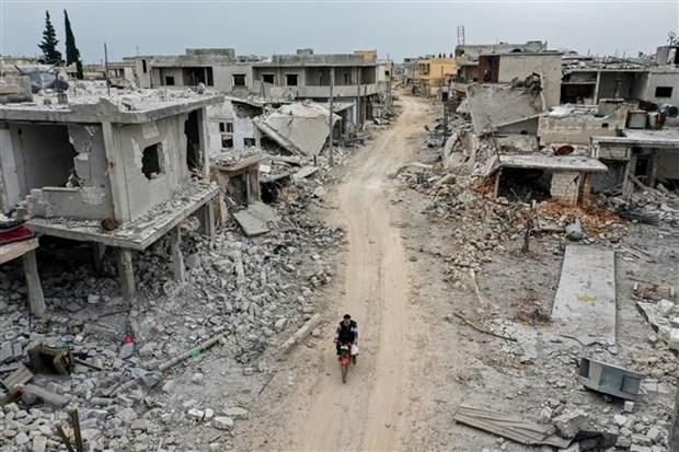 Syria: Giao tranh ac liet o tinh Idlib, 22 nguoi thiet mang hinh anh 1