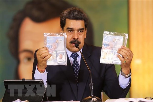 Venezuela bat them 3 linh danh thue lien quan den hoat dong xam nhap hinh anh 1