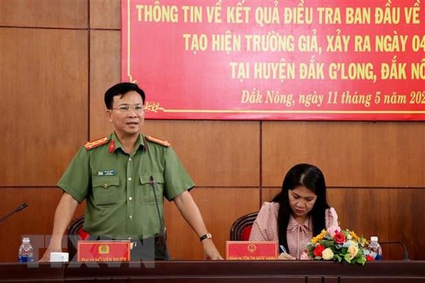 Dak Nong: Bi thu xa giet nguoi, dot xac phi tang, tao hien truong gia hinh anh 1