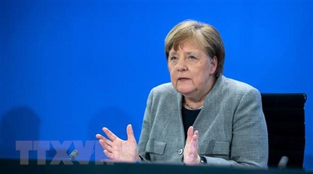 Thu tuong Duc Merkel bay to mong muon cai thien quan he voi Nga hinh anh 1