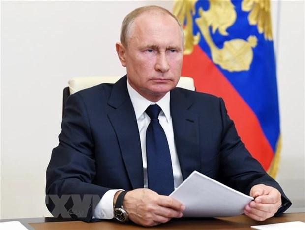 Nga yeu cau Bloomberg xin loi va sua thong tin sai ve Tong thong Putin hinh anh 1