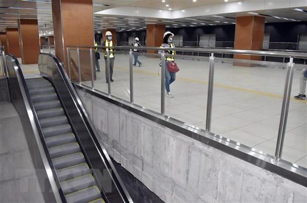 Day nhanh thi cong hoan thien nha ga du an metro Ben Thanh-Suoi Tien hinh anh 1