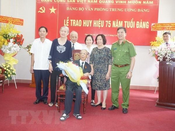 Nguyen Truong ban Noi chinh Trung uong Tran Quoc Huong tu tran hinh anh 1