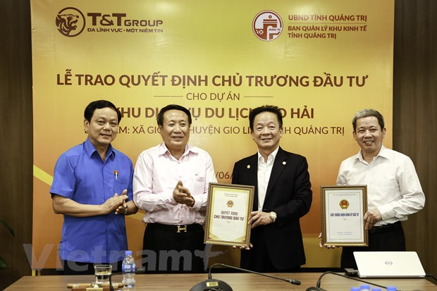 T&T Group dau tu du an khu dich vu, du lich gan 9.000ha tai Quang Tri hinh anh 1