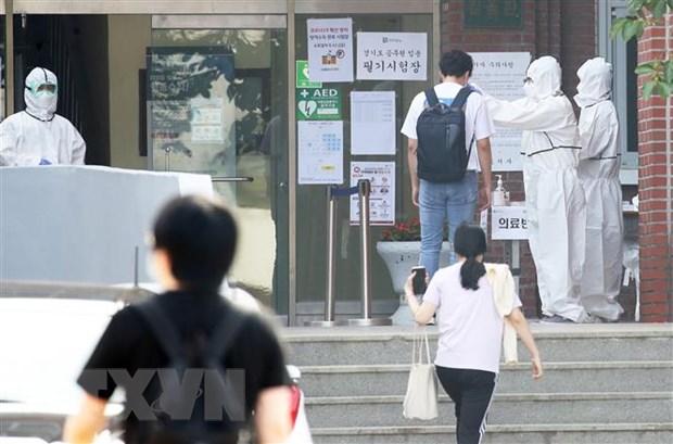 Han Quoc ghi nhan them 34 ca duong tinh voi virus SARS-CoV-2 hinh anh 1