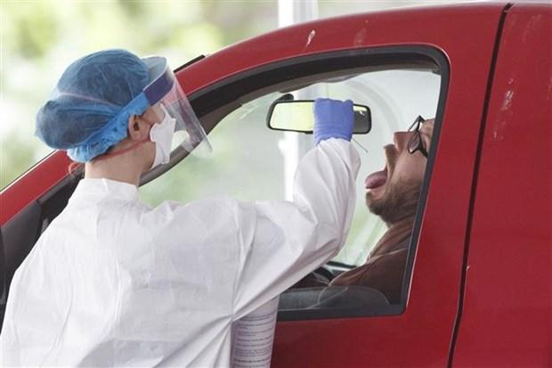 Washington canh bao ve tinh trang gia tang lay nhiem virus SARS-CoV-2 hinh anh 1