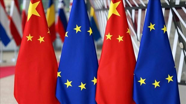 Cang thang gia tang, EU va Trung Quoc to chuc hoi nghi truc tuyen hinh anh 1