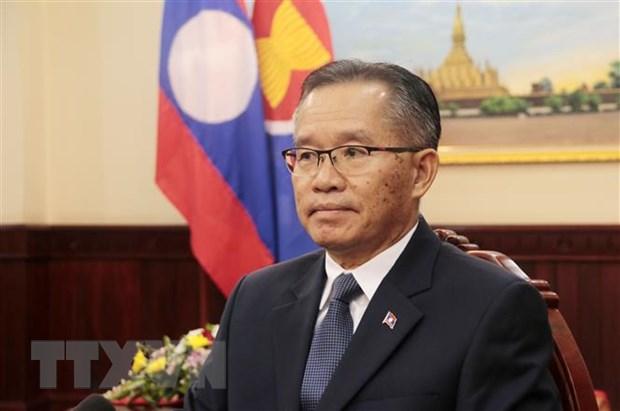 Lao danh gia cao Viet Nam trong vai tro Chu tich ASEAN 2020 hinh anh 1