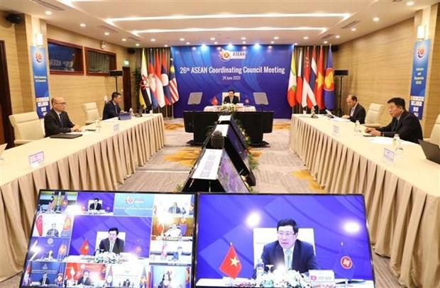 ASEAN 2020: Vai tro gan ket khu vuc trong dai dich cua Viet Nam hinh anh 1