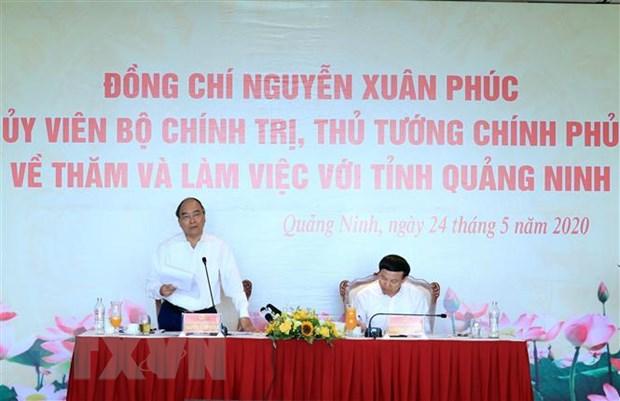 Thu tuong dong y bau bo sung Pho Chu tich UBND tinh Quang Ninh hinh anh 1