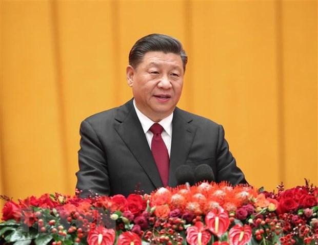 Chu tich Trung Quoc ky ban hanh luat an ninh danh cho Hong Kong hinh anh 1