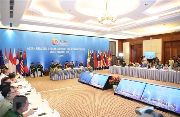 Hoi nghi truc tuyen Chinh sach An ninh dien dan khu vuc ASEAN hinh anh 1