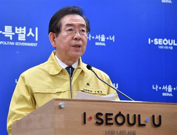 Canh sat Han Quoc tiep tuc tim kiem Thi truong Seoul trong dem hinh anh 1