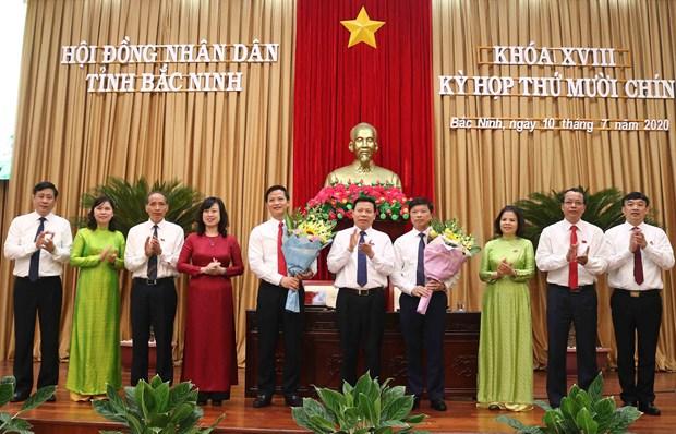 Bac Ninh bau bo sung hai Pho Chu tich UBND tinh nhiem ky 2016-2021 hinh anh 1