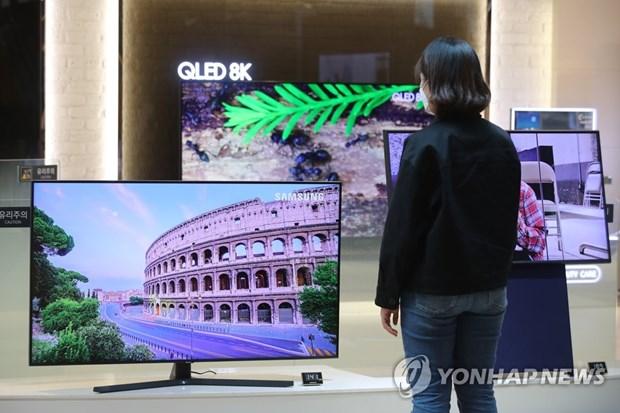 Samsung Electronics dam phan de mua tam man hinh tu LG Display hinh anh 1