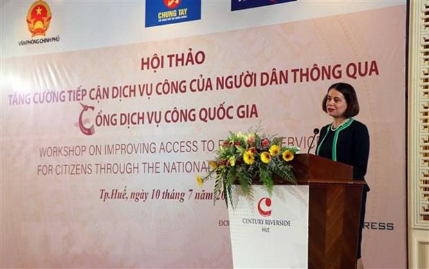 Tang cuong hop tac thuc day quan tri va hanh chinh cong o Viet Nam hinh anh 1
