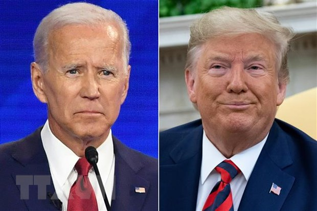 Ong Trump vuot qua ong Biden trong cuoc tham do du luan tai Missouri hinh anh 1