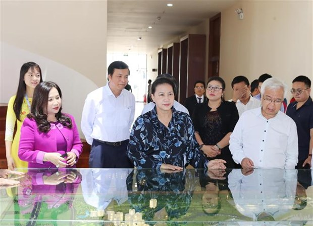 Chu tich Quoc hoi Nguyen Thi Kim Ngan lam viec tai Ba Ria-Vung Tau hinh anh 2