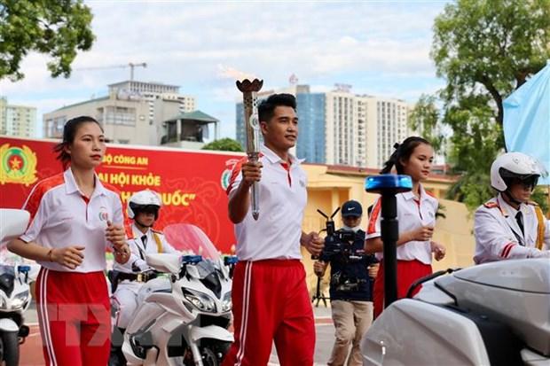 Khai mac Dai hoi khoe de bao ve an ninh To quoc lan thu VIII hinh anh 1