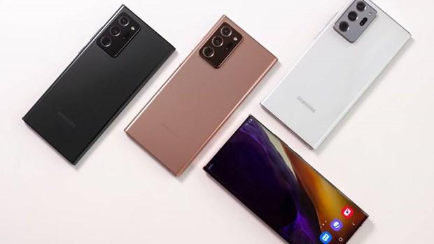 Galaxy Note 20 cua Samsung Electronics dat hang truoc ngay ra mat hinh anh 1