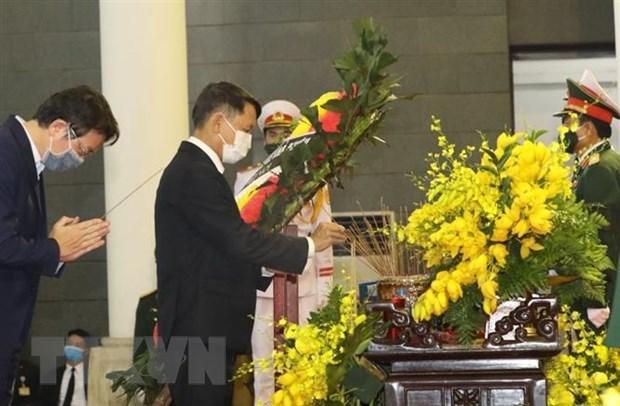 Gan 660 doan den vieng nguyen Tong Bi thu Le Kha Phieu hinh anh 1