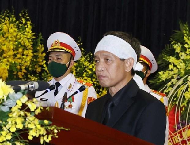 To chuc trong the Le truy dieu nguyen Tong Bi thu Le Kha Phieu hinh anh 2