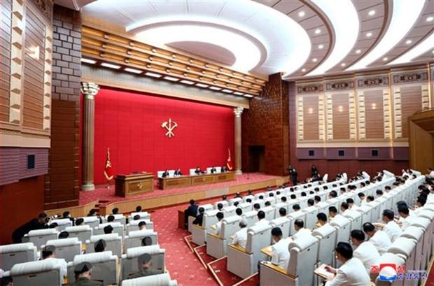 Trung uong dang Lao dong Trieu Tien to chuc hoi nghi toan the vao 19/8 hinh anh 1