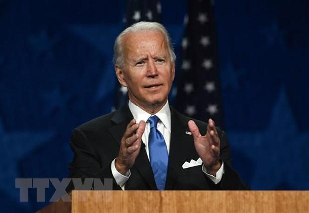 Cuu Pho Tong thong Joe Biden cam ket han gan dat nuoc neu dac cu hinh anh 1