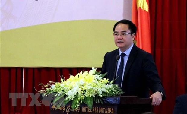 Truong Ban Ton giao Chinh phu Vu Chien Thang lam Thu truong Bo Noi vu hinh anh 1