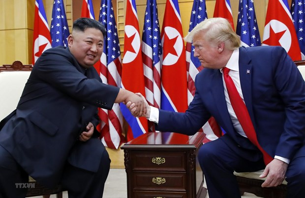 'Yeu to Trieu Tien co vai tro lon trong viec tranh cu cua ong Trump' hinh anh 1