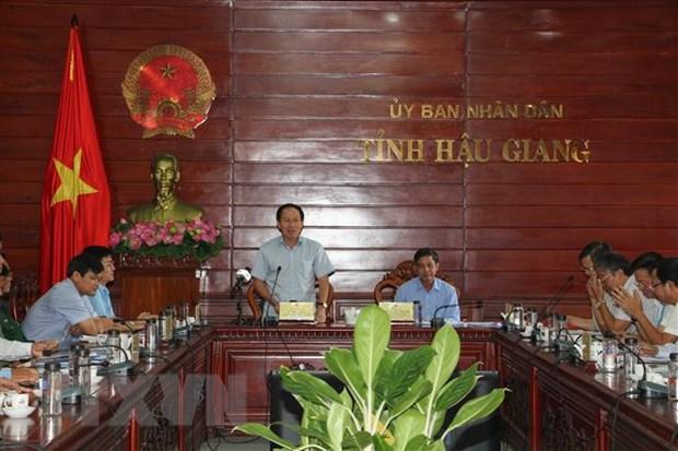 Hau Giang: Xay dung phuong an chi tiet khi don chuyen gia nuoc ngoai hinh anh 1