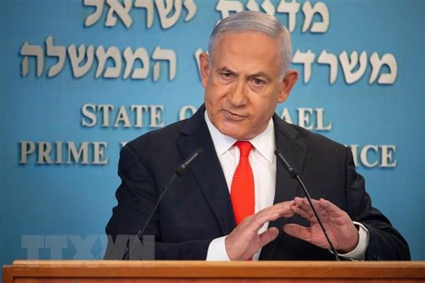 Thu tuong Israel Netanyahu chi trich cac vu tan cong moi tu Dai Gaza hinh anh 1