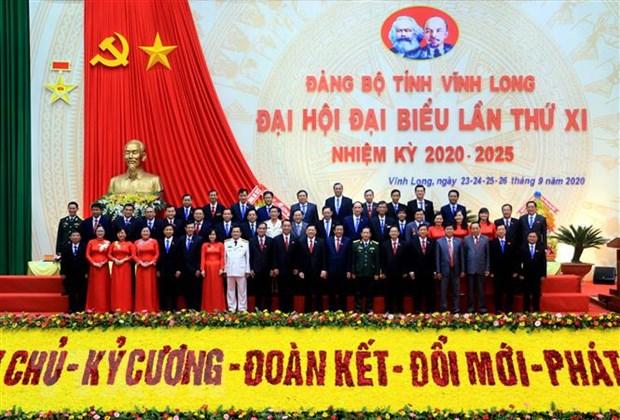 Ong Tran Van Ron tai cu Bi thu Tinh uy Vinh Long nhiem ky 2020-2025 hinh anh 1