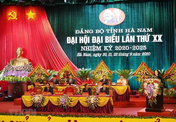 14 Dang bo to chuc thanh cong Dai hoi nhiem ky 2020-2025 hinh anh 1