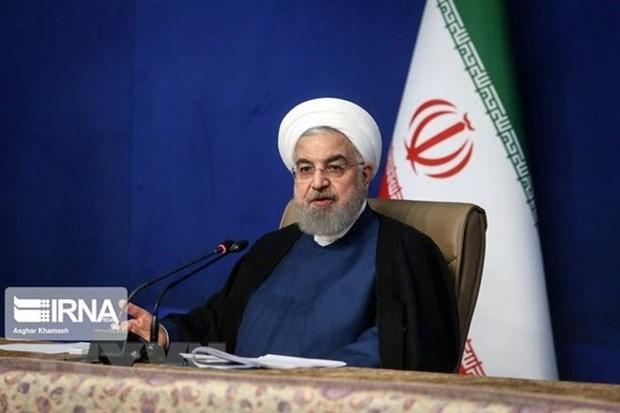 Tong thong Iran Hassan Rouhani chi trich lenh trung phat moi cua My hinh anh 1