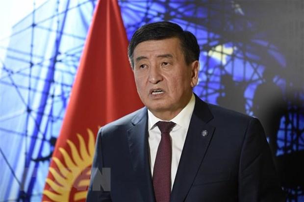 Tong thong Kyrgyzstan ban bo lenh tinh trang khan cap o thu do hinh anh 1