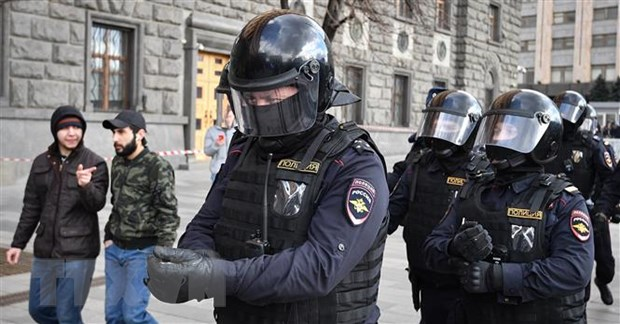 Nga: Mot doi tuong bat coc con tin tai Moskva doa gay no hinh anh 1