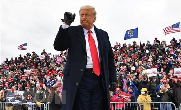 Tong thong Trump tuyen bo chien thang khi phieu van dang duoc kiem hinh anh 1