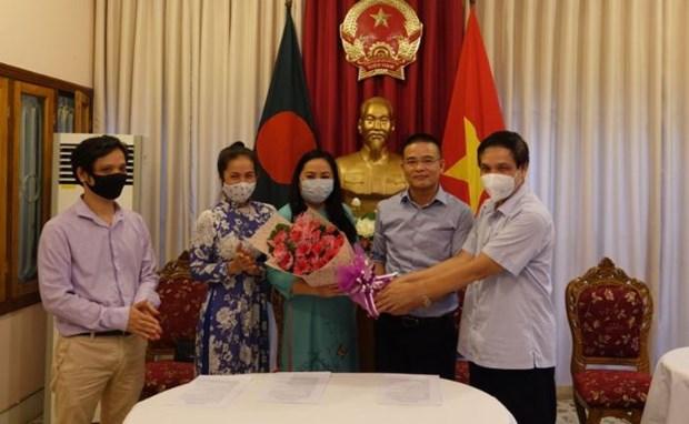 Ra mat Ban lien lac cong dong nguoi Viet tai Bangladesh hinh anh 1