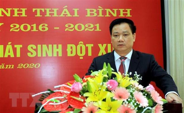 Ong Nguyen Khac Than duoc bau giu chuc vu Chu tich UBND tinh Thai Binh hinh anh 1